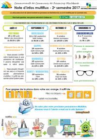prix incroyables prix attractif nouveaux produits pour Infos redotation sacs Multiflux - Communauté de communes de ...